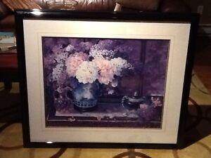 Lovely framed print
