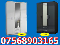 WARDROBE BRAND NEW ROBES WARDROBES CLEARANCE PRICES FAST DELIVERY 9224