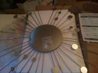 Brand new star burst mirror rrp £39.99 our price £20 free delivery