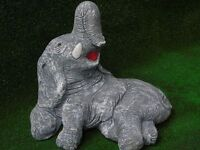 concrete garden ornaments elephant dogs cats statues meerkats