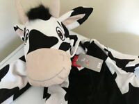Cow fancy dress costume age 7-8 years (new) £6 collection from Shepshed.