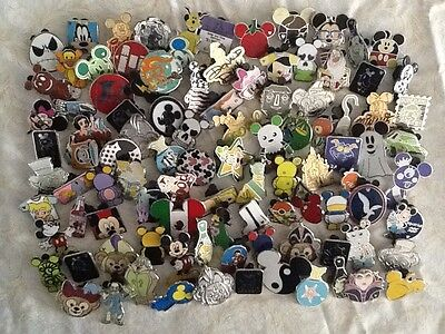 Disney Trading Pins lot of 100 Free Priority Shipping by US Seller 100%Tradeable
