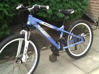 Carrera Luna child's disc brake mountain bike fantastic condition