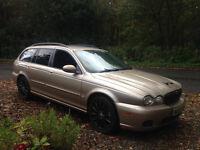 jaguar estate 126k 1 yr mot drives like new , 1 off car look at it £1199