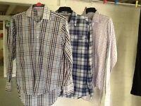 Three Mens shirts