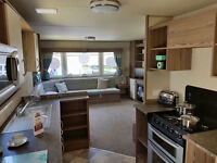 3 bed deluxe caravan to rent on Devon Cliffs Sandy Bay £200-£800 per week