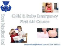 Child & Baby Emergency First Aid Course