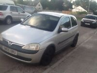 Vauxhall corsa 1.2 sxi twin port