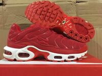 BRAND NEW BOXED NIKE TN's RED SIZES 7 & 10