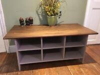 Pine Unit/ Coffee Table/TV Unit