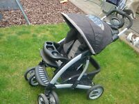 Mothercare Trenton Pushchair Pram Buggy Travel System, in very good condition