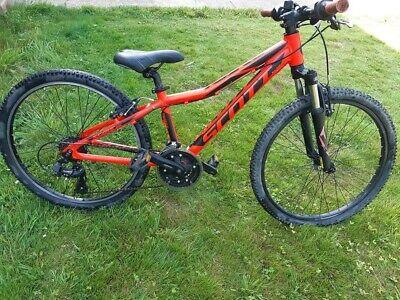 "Scott Scale Jr 24"" Wheel lightweight boys girls child's hardtail mountain bike"