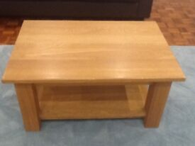 Solid Oak Coffee Table from Hotwells Pine