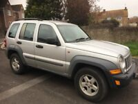 jeep cherokee 2.5 petrol sport 2005/55 plate with 144k and a april 2019 mot..