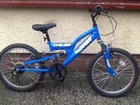 Boys Blue Trax Mountain bike