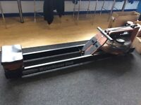 Water Rower Club Rowing Machine With Monitor - New, Barely Used - £600 (RRP £949) - Collection Only