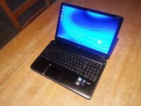 "HP DV6 15.6"" LAPTOP, FAST QUAD CORE i7, 10GB, 750GB, WIFI, WEBCAM, BLUETOOTH, DVDR, HDMI, 2GB NVIDIA"
