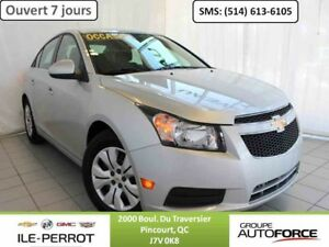 2014 CHEVROLET CRUZE LT TURBO CAMERA, DEM. A DIST,  16 EN STOCK!