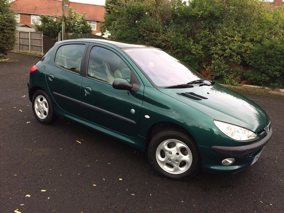 2001 peugeot 206 roland garros 1 6 petrol in crewe cheshire gumtree. Black Bedroom Furniture Sets. Home Design Ideas