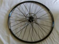 700c front disc wheel + 2 brand new tires