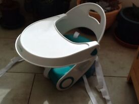 Child booster seat and table by Summer
