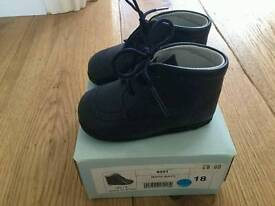 Tinny baby shoes size 18
