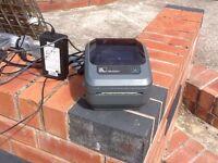 Zebra GK420d 230dpi Thermal Desctoo Label Printer USED