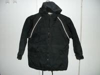 Boys waterproof coat with hood
