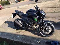 Kawasaki z800e abs 2016 model