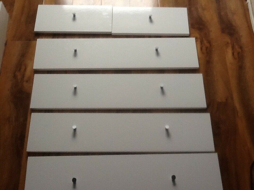 Chest of drawer fronts only
