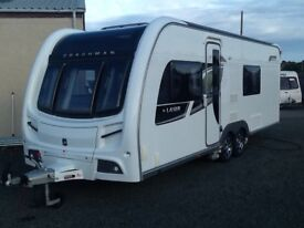 2012 coachman laser 640 fixed bed 4 berth end changing ROOm twin axel with 4wd fitted mover