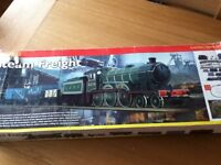 Hornby (R108) Train Set (Track pack A,B and C), Flying scotsman loco, King George V loco and Extras
