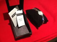 New Crystal GemStone Sekonda Ladies Dress Watch, Are £80, Sell £25.
