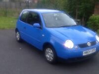 2004 VOLKSWAGEN LUPO 1 OWNER FROM NEW FULL MOT