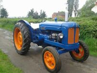 1955 Fordson Major tractor