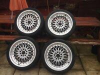 BBS alloys wheels 5x100