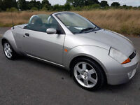 2005 FORD STREETKA LUXURY CONVERTIBLE ~Stamped history~Leather interior~NEW MOT