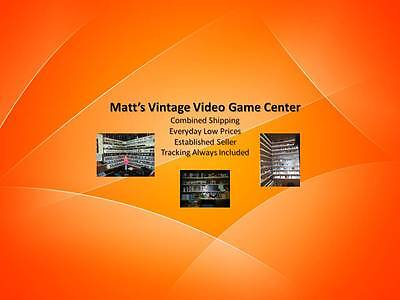 Matts Vintage Video Game Center
