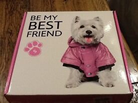 BE MY BEST FRIEND dog coat