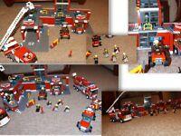 Lego City Fire Station Sets