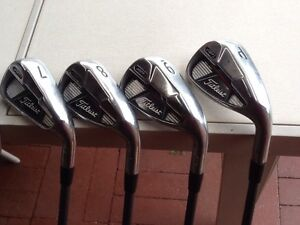 TITLEIST AP1 710 IRONS 4 TO P/W USED GRAPHITE REGULAR Trigg Stirling Area Preview