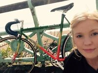 Vintage Dave Yates 753 Single Speed Colourful Bicycle (my pride and joy)