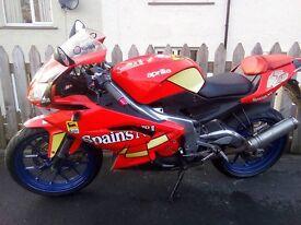 £2000 or px 2007 aprilia rs 125 full power read add fresh!!!!