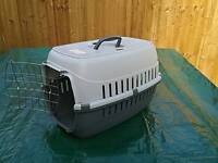 Small dog travel crate,