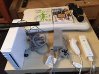 Nintendo Wii console+ Wii fit +more