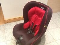 Excellent condition Graco COAST group 1 car seat for 9kg upto 18kg(9mths to 4yrs)-washed and cleaned