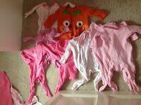 Girls 3-6 month clothes & coat bundle