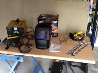Home welding kit with accessories