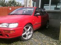 WANTED toyota corolla e10 must be 3 door