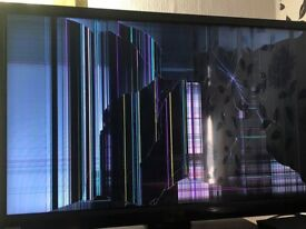 TOSHIBA 32 inch LCD TV SPARES/REPAIRS BROKEN SCREEN